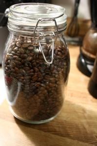 Kaffe tar bort dålig lukt
